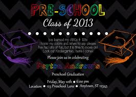 preschool graduation invitations preschool graduation invitations reduxsquad