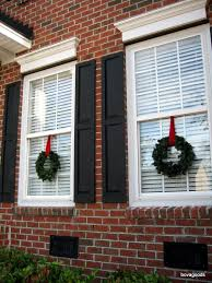 Decorative Wreaths For Home by Add Cheer To Your Windows By Decorating Them For Christmas