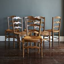 san francisco 1940 u0027s french provincial dining chairs set of 6