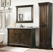 48 single sink vanity with backsplash abel 48 inch antique single sink bathroom vanity in antique coffee