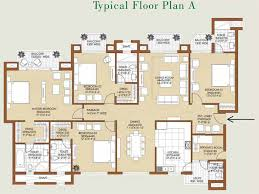 floor plan aaa property track ats golf meadows at dera bassi ats golf meadows floor plans