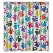 Waterproof Fabric Shower Curtains 66