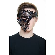 masqurade mask incognito half mask masquerade mask