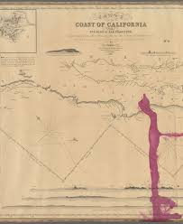 Map Of The Coast Of California File Chart Of The Coast Of California From San Blas To San