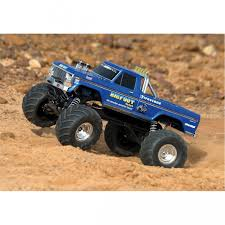 traxxas bigfoot 1 monster truck rtr 12v charger 1 10 2wd