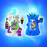 magical blue wizard tower set toys r us