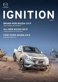 brand new mazda mazda ignition issue 3 by citrus media issuu