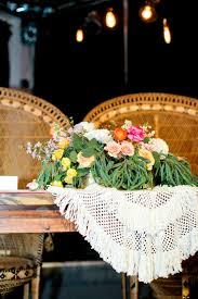 Table Linen Rentals Austin Tx - bohemian head table for bride and groom with peacock chairs