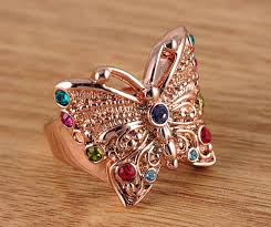 big fashion rings images Fresh big butterfly gold ring jewellry 39 s website jpg
