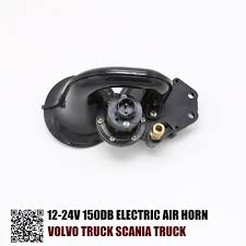 volvo truck service germany aliexpress com buy 12 24v 150db electric air horn for volvo