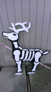 nightmare before christmas decorations my nightmare before christmas skull reindeer decor ideas