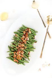 easy green beans almondine lively table