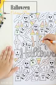 Halloween Activity Sheets And Printables 118 Best Halloween Images On Pinterest Halloween Crafts