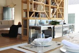 kitchen divider ideas 8 ideas to use room divider as an storage space on a kitchen