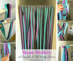 Room Divider Decor - room dividers a simple diy party decor life with lorelai