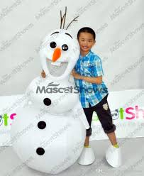 2nd Version Baby Olaf From Mascot Costume Fancy Dress With Olaf