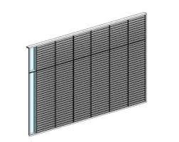 Revit Curtain Panel Curtain Wall Louver Panel Modlar Com