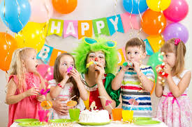 two cheerful clowns birthday children bright stock photo royalty children and clown at birthday party stock image image of festive
