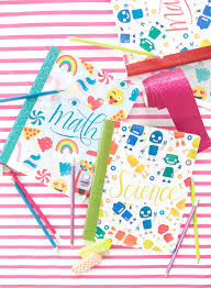 these printable composition notebook covers are perfect for