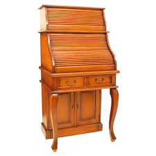 bureau furniture narrow roll top bureau mahogany akd furniture