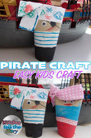 pirate craft easy tp roll craft for kids witches tell the story