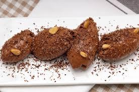 quenelle cuisine chocolate mousse quenelle dessert stock image image of cuisine