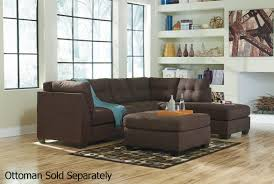 Convertible Sectional Sofa Bed Maier Brown Fabric Sectional Sofa Steal A Sofa Furniture Outlet