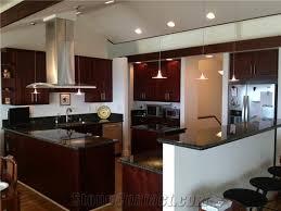 Kitchen Design Cherry Cabinets by Kitchen Design Verde Ubatuba Granite Countertop Espresso Cherry