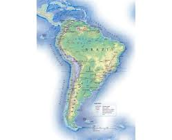 Political Map Of Latin America Maps Of South America And South American Countries Political