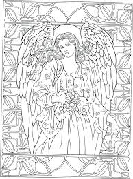 angel coloring pages for adults angel colouring page christmas