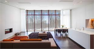luxury design of the cream brown open plan modern living that has