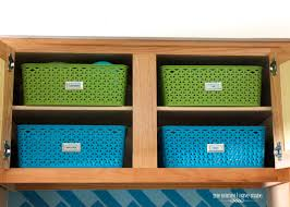Cabinets For Kitchen Storage Storage Ideas For Little Upper Cabinets The Homes I Have Made