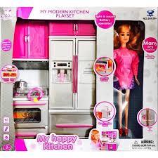 jeu de cuisine avec mon jeu de cuisine moderne avec poupée 3 ans achat vente