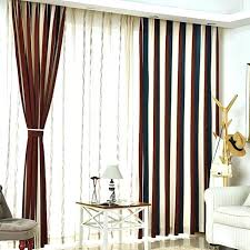 White And Blue Striped Curtains Blue And Brown Curtains Duck Egg Blue Brown Striped Curtains