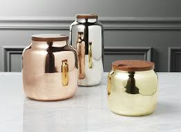 bronze kitchen canisters keep your food and decor fresh with these 13 modern jars and