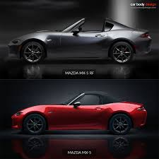 mazda roadster mazda mx 5 rf fastback vs mx 5 roadster