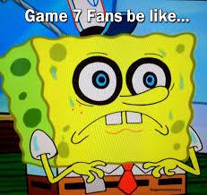 Game 7 Memes - hockey game 7 fans be like hockey meme upper corner hockey