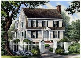 Dutch Colonial Home Plans Colonial Cottage House Plan House Plans
