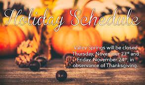 valley springs presbyterian church schedule