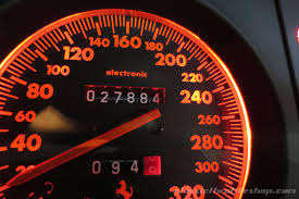 ferrari speedometer 1995 ferrari 512 tr rosso corsa classic throttle shop