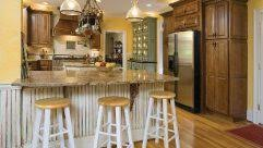 Modern French Country Decor - simple diy kitchen racks french country home decorating modern