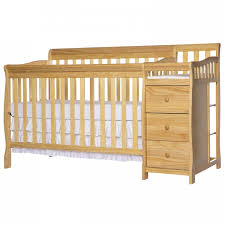Cribs With Changing Tables Brody 5 In 1 Convertible Crib With Changer On Me