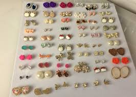 cheap stud earrings diy and easy earring storage solution flutter and sparkle