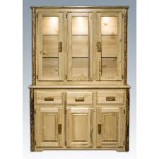 montana woodworks glacier country china hutch 178372 kitchen