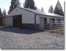 Pole Barns Colorado Springs This Post Frame Pole Barn Was Built With Style And Everyday Use
