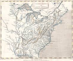 1820 Map Of United States by 1800 U0027s Pennsylvania Maps