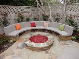 Firepit Bench Pit And Bench Gemini 2 Landscape Construction