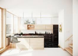 modern kitchen interiors kitchen designs modern kitchen design1 black white wood