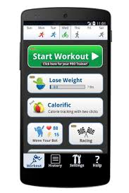 lose it app for android cardio trainer pro android fitness app overview