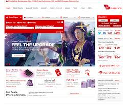 virgin america a striking example of mobile first